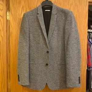 NWT Calvin Klein wool grey blazer